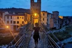 Chiara a Montezemolo by night