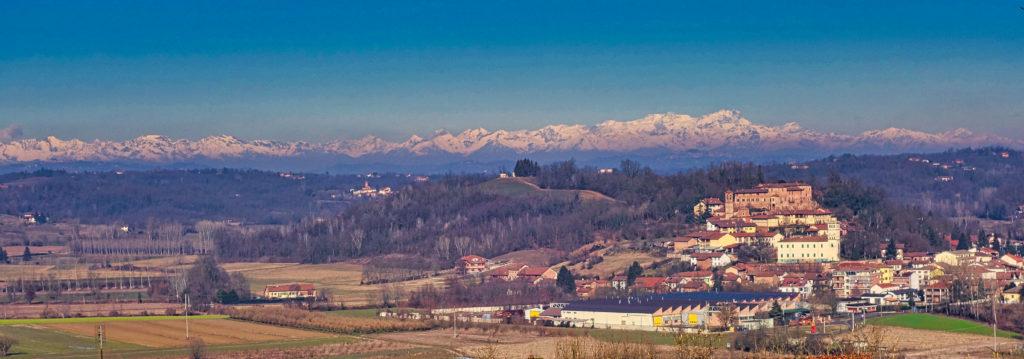 Monale con Alpi