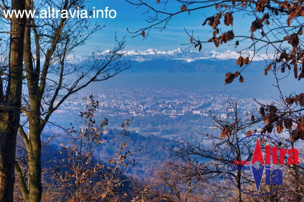 1021 Panorama d'autunno su Torino